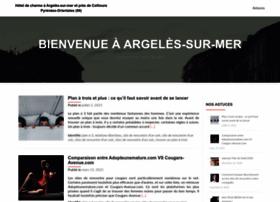 hoteldugolfe-argeles.com
