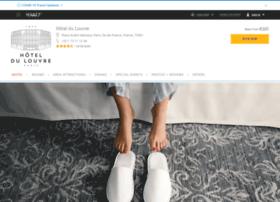 hoteldulouvre.com