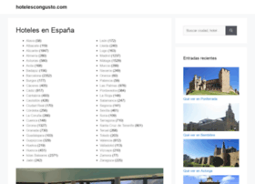 hotelescongusto.com