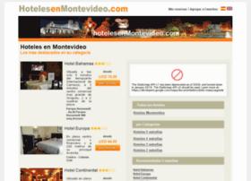 hotelesenmontevideo.com