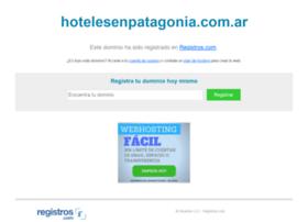 hotelesenpatagonia.com.ar