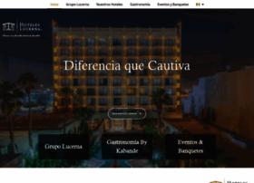 hoteleslucerna.com