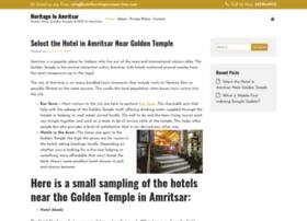 hotelheritageinnamritsar.com