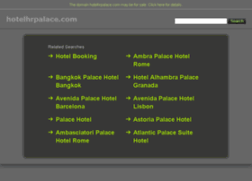 hotelhrpalace.com