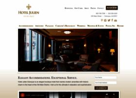 hoteljuliendubuque.com