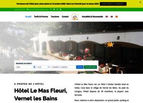 hotellemasfleuri.com