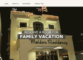 hotelmaidenresidency.com