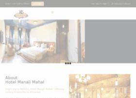 hotelmanalimahal.com