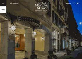hotelmanzoni.com