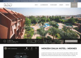 hotelmenzehdalia.com