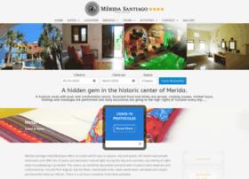 hotelmeridasantiago.com