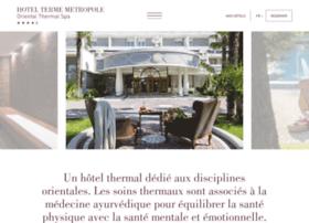 hotelmetropoleabano.fr