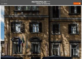 hotelmetropolisrome.com