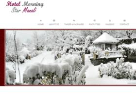 hotelmorningstarmanali.com