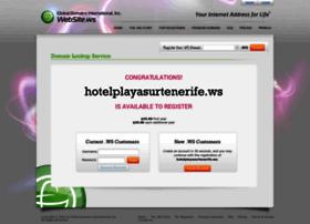 hotelplayasurtenerife.ws