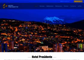 hotelpresidente-bo.com