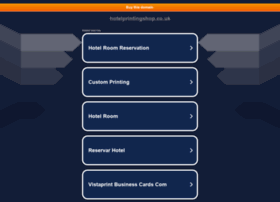 hotelprintingshop.co.uk