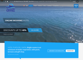 hotelpuntadelcantal.com
