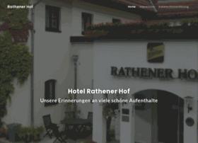 hotelrathenerhof.de