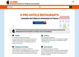 hotelrestaurant.e-pro.fr