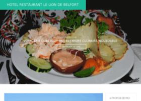 hotelrestaurantleliondebelfort.fr