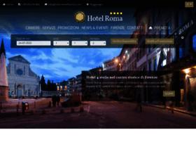 hotelromaflorence.com