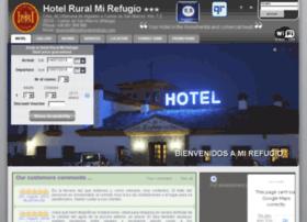 hotelruralmirefugio.com