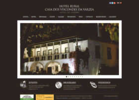 hotelruralviscondesvarzea.com