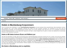 hotels-in-mecklenburg-vorpommern.de