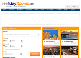 hotels.holidayrooms.com