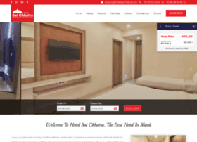 hotelsaichhatra.com