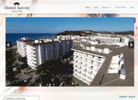 hotelsavoylloret.com