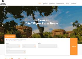 hotelshyamfarm.com