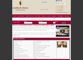 hotelsiddharthpalace.com