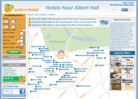 hotelsnearalberthall.com