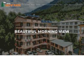 hotelsnowparkmanali.com
