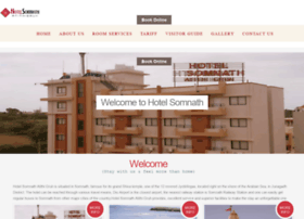 hotelsomnath.com
