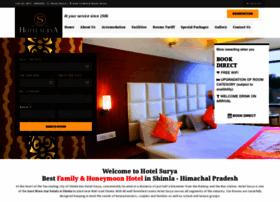 hotelsuryashimla.com
