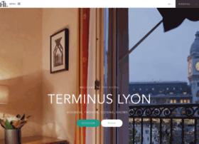 hotelterminuslyon.com