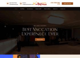 hotelthetajvilas.com