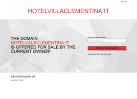 hotelvillaclementina.it