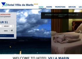 hotelvillademarin.com