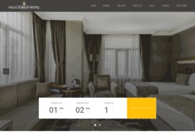 hotelvillazurich.com
