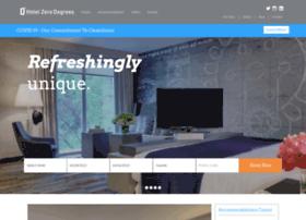 hotelzerodegrees.com