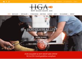 hotglassalley.com