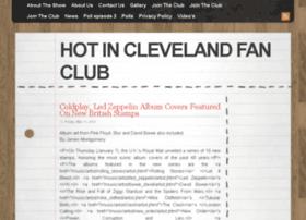 hotinclevelandfanclub.com
