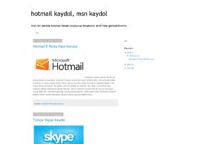 hotmail-kaydolun.blogspot.com