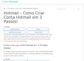 hotmailcriarconta.com.br
