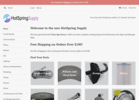 hotspringsupply.com