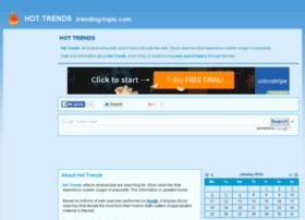 hottrends.trending-topic.com